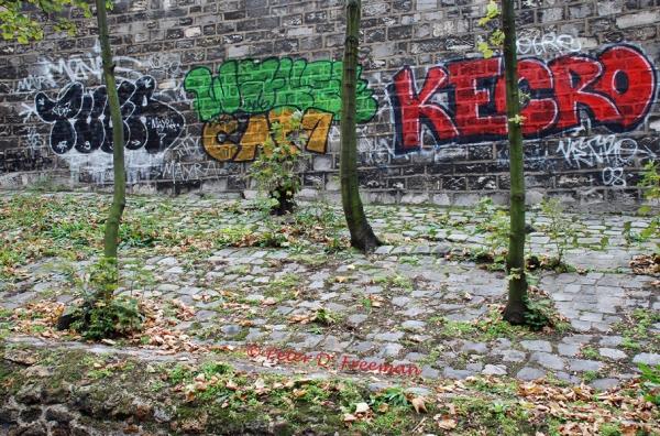 Montmartre Grafitti