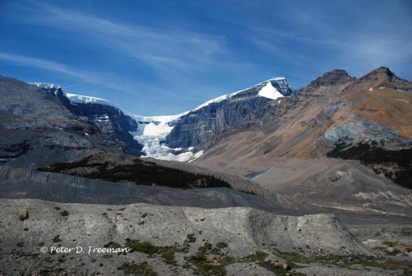 Receding Glacier