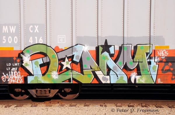 Railroad Graffiti 3
