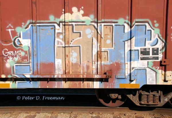 Railroad Graffiti 5