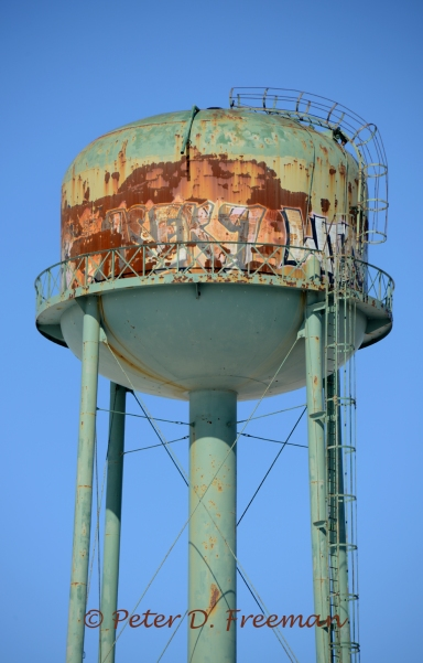 Midway Water Tower