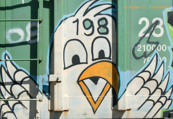 Railroad Graffiti 23