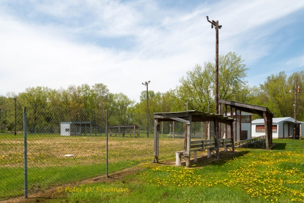 Small Town Ball Field