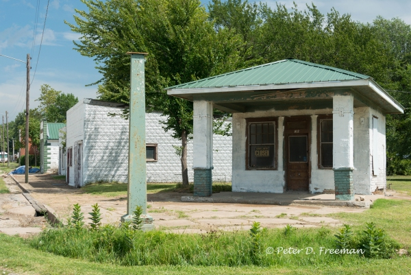 Corner Gas Station