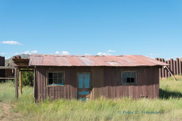 Corrugated Building