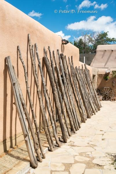 Coyote Fence Poles