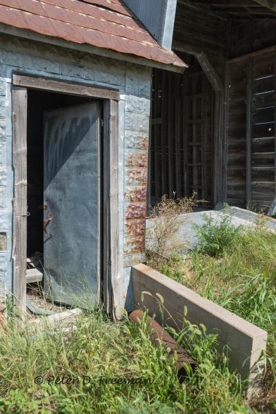 Tin Doorway