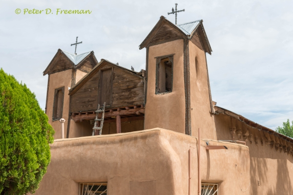 El Santuario de Chimayo Steeples